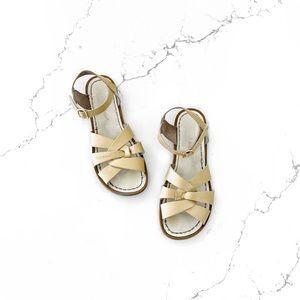 Saltwater Gold Classic Sandals
